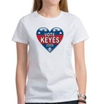 Vote Alan Keyes 2008 Political Women's T-Shirt