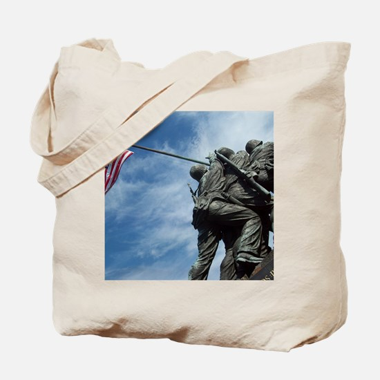 Iwo Jima's Glory Tote Bag