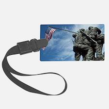 Iwo Jima's Glory Luggage Tag