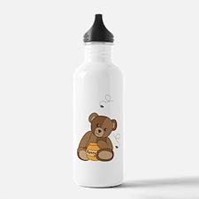 Teddy Bear and Honey Water Bottle