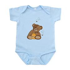 Teddy Bear and Honey Body Suit