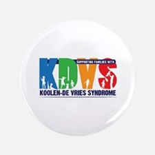 "KDVS Logo 3.5"" Button"