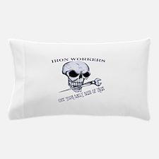 IRON SKULL Pillow Case