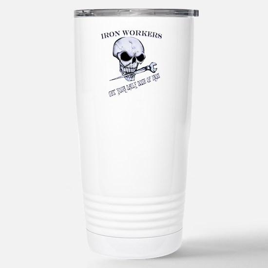 IRON SKULL Stainless Steel Travel Mug