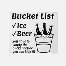 Bucket List Throw Blanket