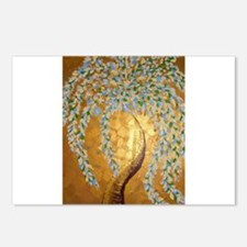 gold tree Postcards (Package of 8)