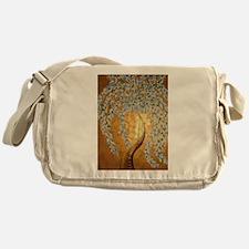 gold tree Messenger Bag
