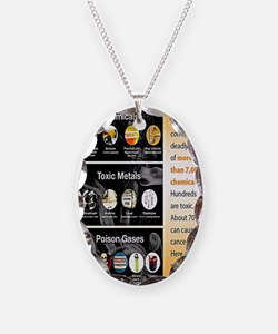 Tobacco Infographic Necklace