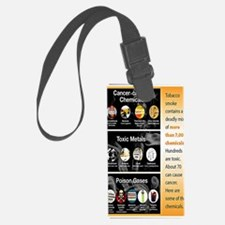 Tobacco Infographic Luggage Tag