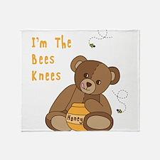 Im The Bees Knees Throw Blanket
