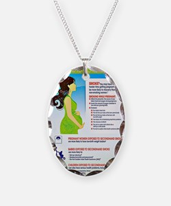 Smoking Infographic Necklace