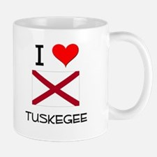 I Love Tuskegee Alabama Mugs