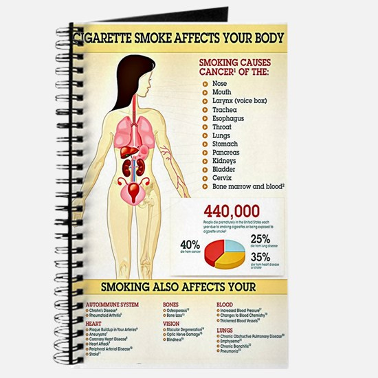 Cigarette Smoking Infographic Journal