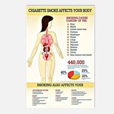 Cigarette Smoking Infogra Postcards (Package of 8)