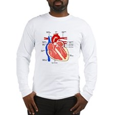 Heart Diagram Long Sleeve T-Shirt
