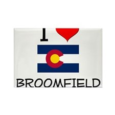 I Love Broomfield Colorado Magnets