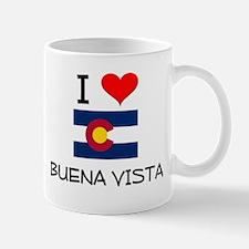 I Love Buena Vista Colorado Mugs