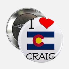 "I Love Craig Colorado 2.25"" Button"