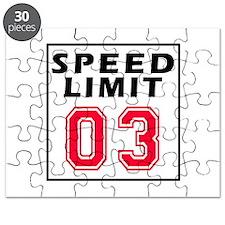 Speed Limit 03 Puzzle