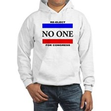 Re-elect No One For Congress Hoodie