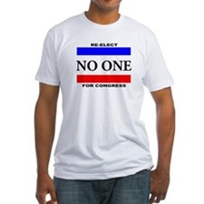 Re-elect No One For Congress T-Shirt
