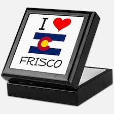 I Love Frisco Colorado Keepsake Box