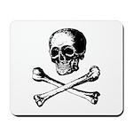 Skull and Crossbones Mousepad