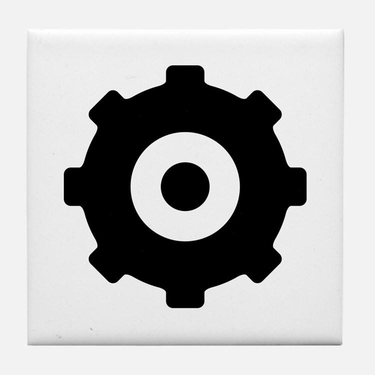 Gearhead Ideology Tile Coaster
