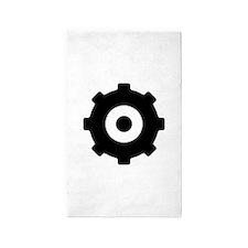 Gearhead Ideology 3'x5' Area Rug