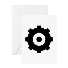Gearhead Ideology Greeting Card