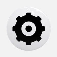 Gearhead Ideology Ornament (Round)