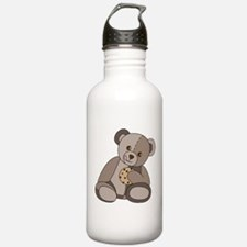 Teddy Bean and Cookie Water Bottle