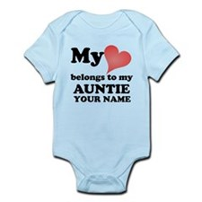 My Heart Belongs To My Auntie (Custom) Body Suit