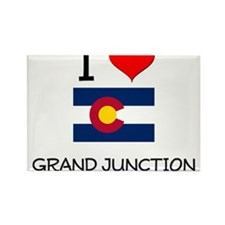 I Love Grand Junction Colorado Magnets