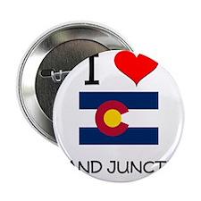 """I Love Grand Junction Colorado 2.25"""" Button"""