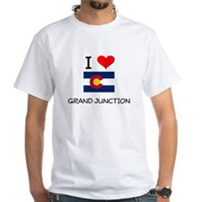 I Love Grand Junction Colorado T-Shirt