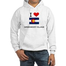 I Love Greenwood Village Colorado Hoodie