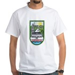 Middlebury Police White T-Shirt