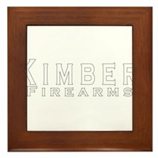 Kimber Firearms Framed Tile