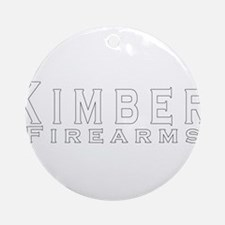 Kimber Firearms Ornament (Round)