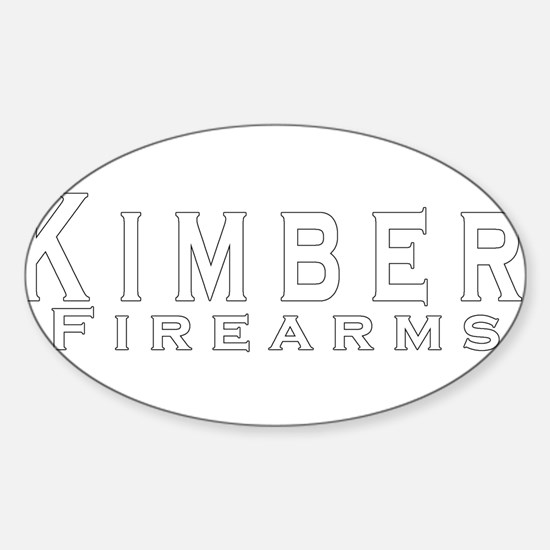 Kimber Firearms Sticker (Oval)