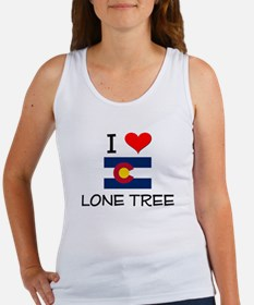 I Love Lone Tree Colorado Tank Top