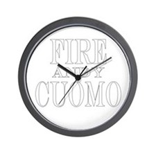 Fire Andy Cuomo Wall Clock