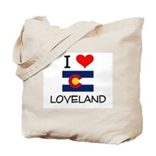 I Love Loveland Colorado Tote Bag