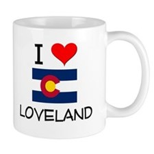 I Love Loveland Colorado Mugs