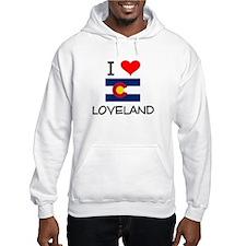 I Love Loveland Colorado Hoodie
