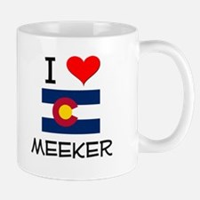 I Love Meeker Colorado Mugs