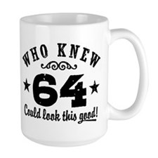 Funny 64th Birthday Mug