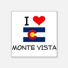 I Love Monte Vista Colorado Sticker