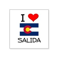 I Love Salida Colorado Sticker